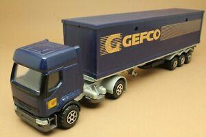 """Camion RENAULT Premium """"GEFCO"""" - MAJORETTE - Made in France - échelle 1:60"""