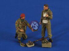 Verlinden 1/35 British Para Red Devils & RAF Glider Pilot WWII (2 Figures) 2593