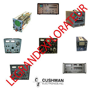 Ultimate Cushman Instruments  Operation Repair Service manual  Collection on DVD