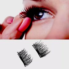 3D Magnetic Thick & Long Natural False Eyelashes Extension Hand made 4/pcs Set