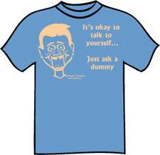 Ventriloquist T-Shirt – Ask a Dummy - MENS X-LARGE