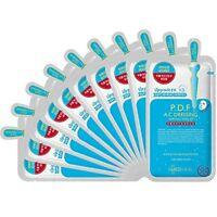Mediheal PDF AC Dressing Ampoule Mask Korea Cosmetics Skin Care Sheet Pack 10pcs