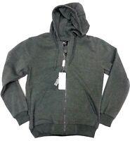 Adults Mens Ladies Plain Full Zip Hoodie Full Zip Top Sweatshirt Size M to XXXXL