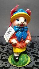 Schaller & Radko German Paper Mache Easter Bunny Rabbit 5/600 Candy Container