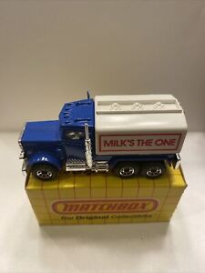 VINTAGE MATCHBOX #56 PETERBILT TANKER IN BOX