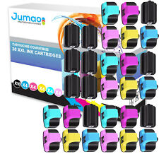 30 cartouches Jumao compatibles pour HP Photosmart All-in-One Printer 3210 3310