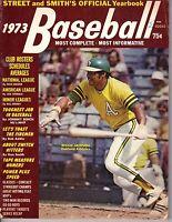 1973 Street & Smith's Baseball magazine, Reggie Jackson, Oakland A's FAIR