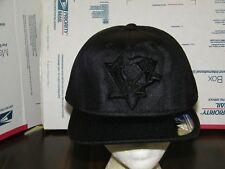 Pittsburgh Penguins NHL VERY RARE VINTAGE ADIDAS BLACK LOGO SNAPBACK Hat CAP