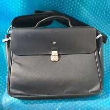 MANDARINA DUCK Black Business Laptop Shoulder Messenger File Bag Used