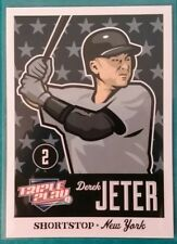 2012 PANINI TRIPLE PLAY DEREK JETER #57 NEW YORK YANKEES NY HOF