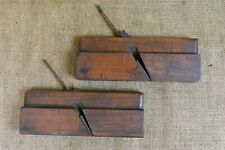 Moulding Planes: Pair of No. 14 Hollow + Round Planes, John Marley, Liverpool