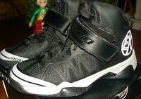 Ektio Alexio New with Box Men's Ankle Support Basketball Shoes Size 10 Black NIB