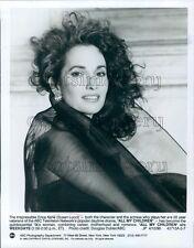 1990 Pretty Actress Susan Lucci All My Children Soap Opera TV Press Photo