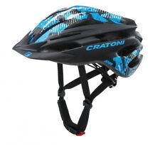 Fahrradhelm Cratoni Pacer MTB Gr. S M 54-58cm schwarz blau matt