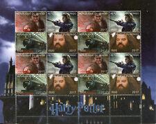 Harry Potter Stamps 2017 CTO Hagrid Hogwarts Express Trains 16v M/S I