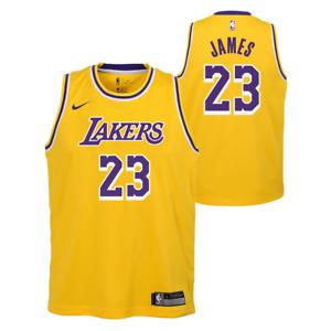 Los Angeles Lakers Kids Nike Icon Swingman Jersey - James 23 - New