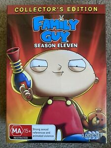 Family Guy Season 11 Collectors Edition With T-Shirt And Script