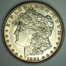 1881 O Morgan Silver Dollar Coin New Orleans Minted $1 US Coin Almost Unc AU