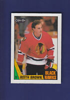 Keith Brown 1987-88 O-PEE-CHEE Hockey #47 (NM+)