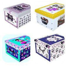 10 Scatole Cambio Stagione Box In Cartone Cm.52X38X23 Vari Colori