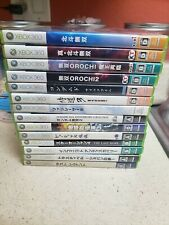 Xbox 360 video game bundle 14 games Japanese imports