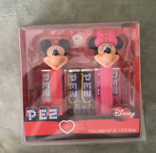 Pez Disney Mickey & Minnie Mouse Dispenser Gift Lot With Chocolate Candy Pez