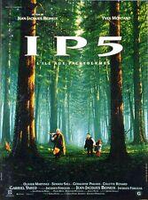 Affiche 40x60cm IP5 L'ILE AUX PACHYDERMES (1992) Beineix - Yves Montand TBE