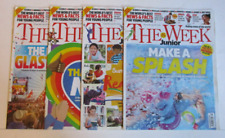 The Week Junior Magazine x 4 June/July 2020 Consecutive Issues - See Description