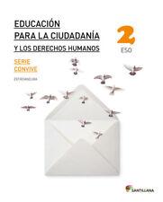 (EXT).(16).EDUCACION CIUDADANIA 2ºESO *EXTREMADURA*. ENVÍO URGENTE (ESPAÑA)