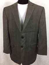 RALPH LAUREN GLEN Check PLAID Wool BLAZER Suit Jacket 44R 2 Buttons Vented