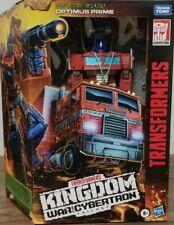 Transformers ~ OPTIMUS PRIME ~ Kingdom ~  WFC Leader Class ~ Trilogy
