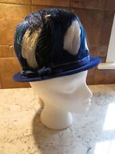 Vintage Sears Roebuck And Co. Woman's Multi Colored Feather Hat Has Original Tag