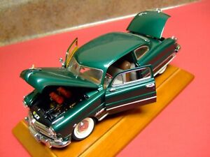 Franklin Mint 1/24th Scale 1951 Hudson Hornet -VERY NICE-