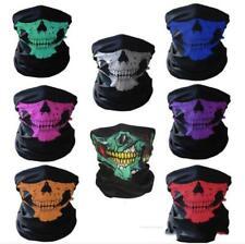 1 Pc Skull Half Face Mask Scarf Bandanna Bike Motorcycle Scarves Scarf Neck