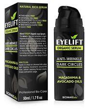 EYELIFT Bio Face Lift Eye Natural Anti Wrinkle Ageing Organic Vegan Serum 50ml