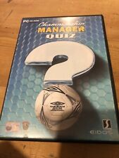 Championship Manager Quiz - PC