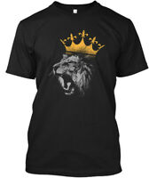 King Of The Jungle Lion Funny S Hanes Tagless Tee T-Shirt