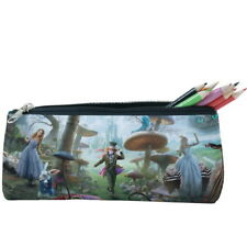 375510d48c Alice In Wonderland Pencil Case Cosmetic Bag Travel Case Zip Purse p17 w1003