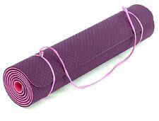 Fitem Tapis de Yoga  Gym sport Eco Natura TPE 183x61x0,6cm - Reversible violet