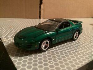 2000 Pontiac Firebird Johnny Lightning Modern Muscle Green 1/64 loose
