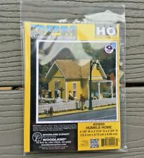 WOODLAND SCENICS 1/87 HO SCALE HUMBLE HOME PRE FAB BUILDING KIT # PF 20600 F/S