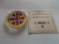 25 New Pence Eliz.II 1972 Gold Plated