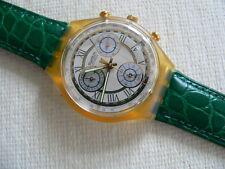 1993 Swatch Watch Clocher SCJ400 Leather Band - Never worn