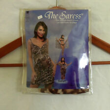 NEW THE SARESS ULTIMATE BEACH DRESS BATHING SUIT COVER UP SIZE MED 8-10 SAFARI