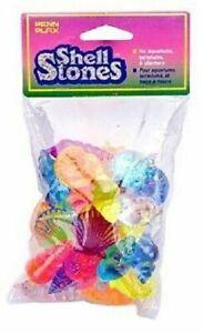 Penn Plax Shell Stones Multi Color Stones Decorations - 32 Piece