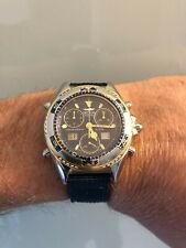 Orologio chrono alarm sub diver scuba vintage SECTOR - SGE 700 200 Mt. Swiss md!