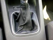 cuffia cambio compatibile VW Golf V 1K1 (Bj. 2003-2009) vera pelle cuciture nere