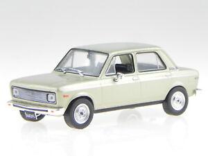 Fiat 128 Europa 1978 beige met. Argentina diecast model car in Vitrine 1:43