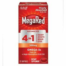Megared Advanced 4in1, 25 Count. EXP.3/21.