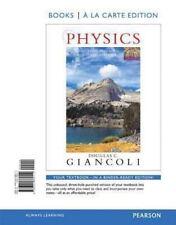 Physics : Principles with Applications, Books a la Carte Edition by Douglas...